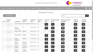 Logistics Management Application